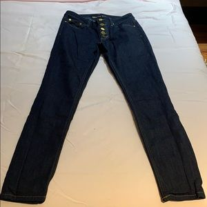 MICHAEL KORS HIGH WAISTED JEANS